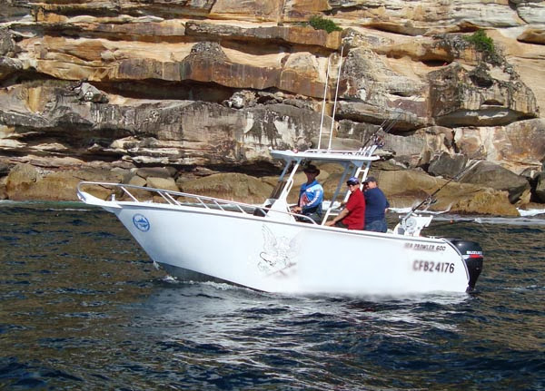 Sydney Harbour Private Boat Fishing